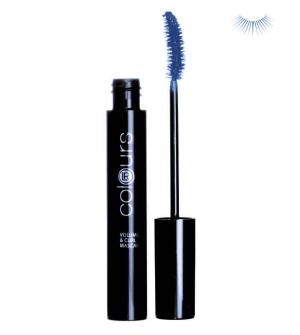 LR Colours Mascara Night Blue pro objem a natočení řas - 10 ml