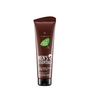 LR ALOE VIA Aloe Vera 4v1 Šampon na tělo, obličej, vlasy a vousy - 250 ml