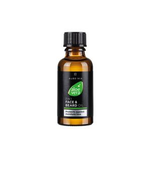 LR ALOE VIA Aloe Vera 2v1 Olej na pleť a vousy - 30 ml